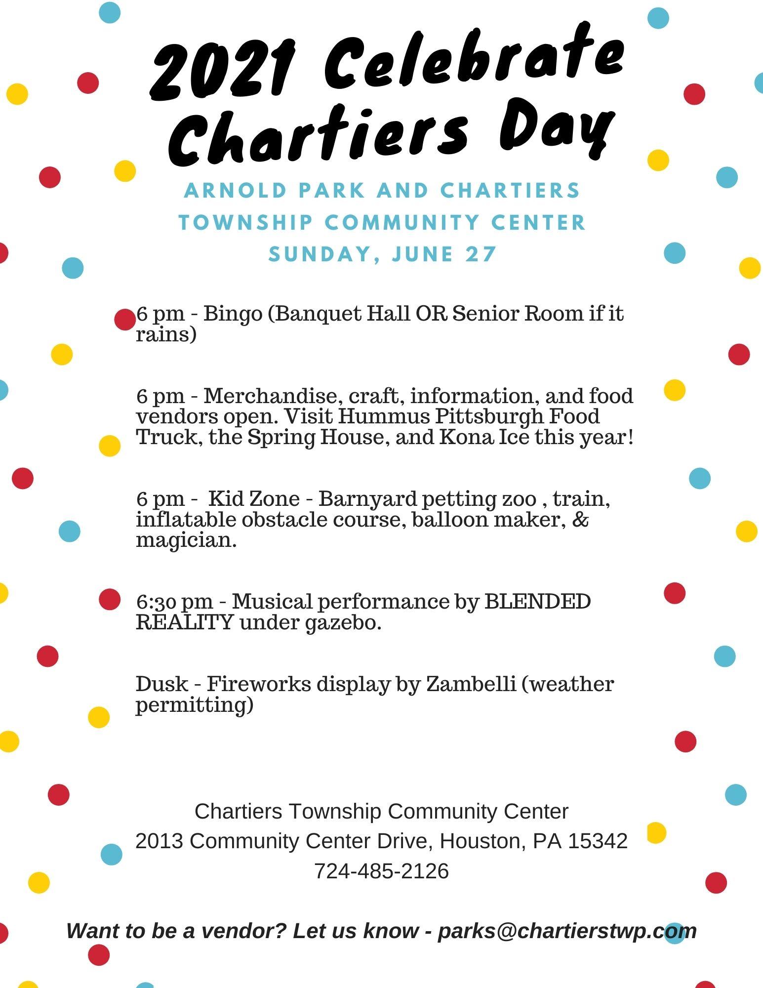 2021 Community Day Flyer