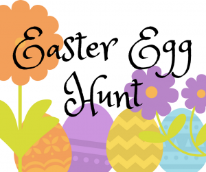 Easter Egg Hunt newsletter graphic