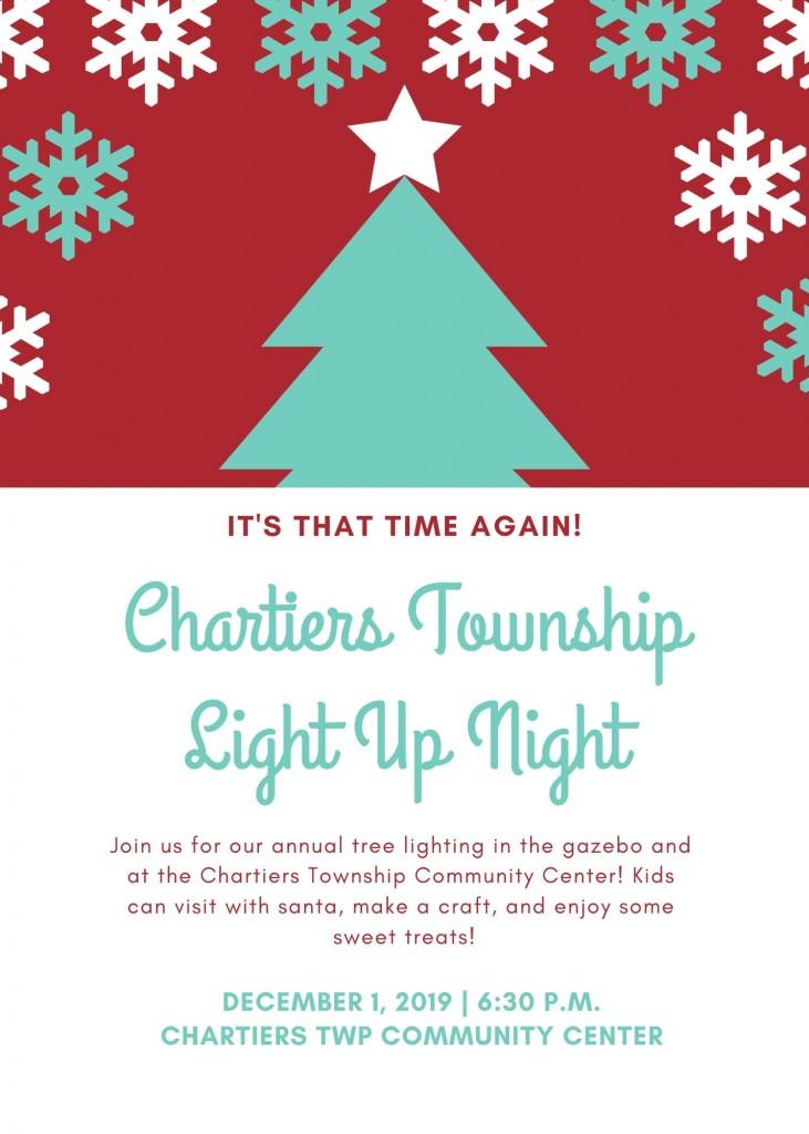 Light Up Night 2019 Flyer